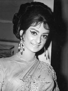 Saira Banu, also known as Saira Bano, is an Indian Bollywood actress and the wife of the film actor Dilip Kumar. She acted in many Bollywood films between 1961 and 1980.