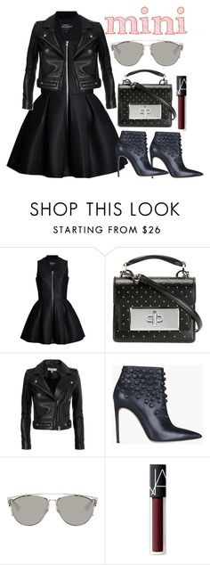 """""""20161024-07"""" by filmaandry ❤ liked on Polyvore featuring Lavinia Cadar, Marc Jacobs, IRO, Dsquared2, Christian Dior, NARS Cosmetics and MiniBag"""