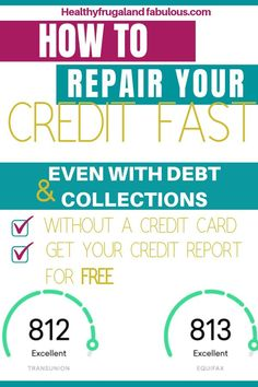 Did you know that you can increase your credit score even if you're tied down by debt? Learn how to repair your credit and increase your credit score Fix Your Credit, Good Credit Score, Improve Your Credit Score, Fix Bad Credit, Chase Credit, Credit Check, Building Credit Score, Build Credit, Free Credit Repair