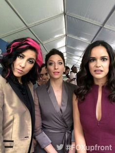 Stephanie, Chelsea, and Melissa (Rosa, Gina, and Amy) Watch Brooklyn Nine Nine, Brooklyn 9 9, Chelsea Peretti, Netflix, Jake And Amy, Movies And Tv Shows, Memes, Actors & Actresses, Movie Tv