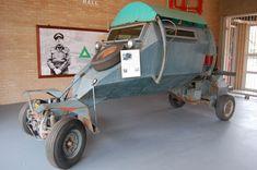 VW Leopard mine resistant car...