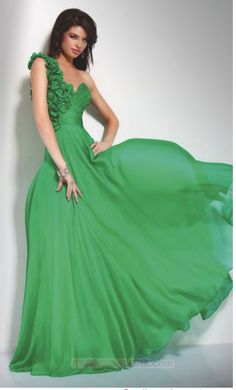 .LOVE this dress! Color and style...would be fun at a Mardi Gras Ball :)