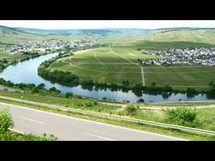 Moselschleife Trittenheim - Germany 4K Travel Channel