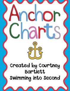 Anchor charts for a variety of comprehension skills, sentence mechanics, nouns, verbs, and lots of additional skills.Some skills included:-caus...