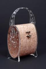 Lucite Handbag....love this!!