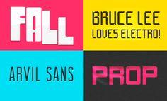 Free Crazy Ass Fonts Series 6 // Via @mywebneel //
