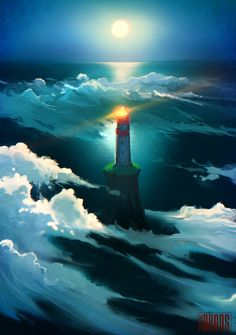 Cloud Lighthouse by *RHADS