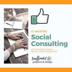 12 Months of Social Media Consulting Social Media Training, Get Started, Style Guides, 12 Months