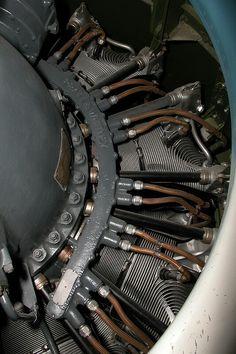 Grumman F6F Hellcat. Detail photos