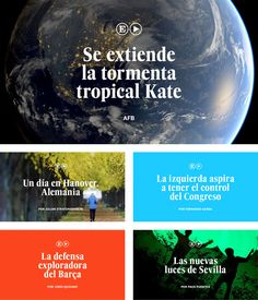 Brand New: New Logo and Online Look for El País Video by Erretres