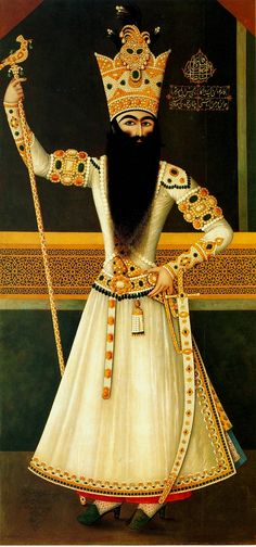 An Early Painting of Fath Ali Shah. Fat′h Ali Shah Qajar (Persian: فتح على شاه قاجار; var. Fathalishah, Fathali Shah, Fath Ali Shah; 5 September 1772 – 23 October 1834) was the second Qajar king of Iran. He reigned from 17 June 1797 until his death.