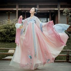 Chinese Clothing Traditional, Traditional Fashion, Traditional Dresses, Hanfu, Mode Kimono, Desi Wedding Dresses, Estilo Lolita, Princess Outfits, Fantasy Dress