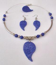 Hand made Polymer Clay Jewelry by Lux! www.laxmijayaraj.com