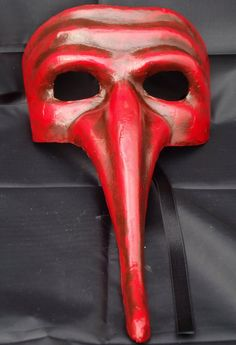 Il Capitano mask by tragicomic on Etsy