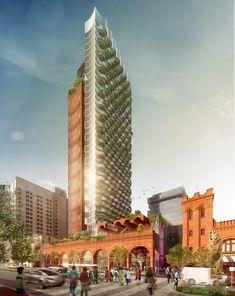 Image 1 of 5 from gallery of Woods Bagot Reveals Winning Design for New Adelaide Central Market Arcade. Photograph by Woods Bagot Arcade, City Of Adelaide, Brick Arch, Central Market, Gas Lights, Community Space, Adaptive Reuse, Property Development, Global Design