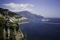 Amalfi, Italy #travel #europe #cruises