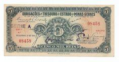 5 Mil Réis Estado De Minas Gerais                                                                                                                                                                                 Mais