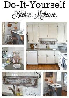 mycreativedays: Do It Yourself Kitchen Makeover