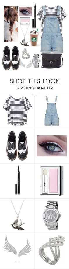 """""""inspired Eleanor Calder 'summer' style"""" by arianalertxnh ❤ liked on Polyvore featuring Athleta, Forever New, Essentiel, Givenchy, Clinique, Michael Kors, Ana Khouri, Damiani and Warehouse"""