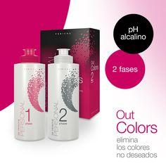 Conseguir eliminar la #coloración no deseada, los pigmentos de oxidación o reflejos incorrectos no deseados es posible con Out Colors. Y además con pH Alcalino. ¡Ideal para el colorista!