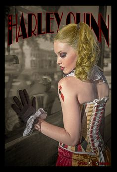 Victorian Harley Quinn Cosplay