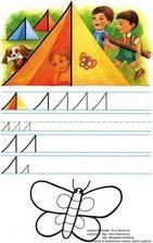 Jemná motorika - Album používateľky mery333 Symbols, Letters, Album, Letter, Lettering, Glyphs, Card Book, Calligraphy, Icons