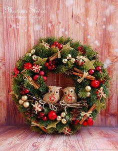 Christmas Bazaar Crafts, Christmas Advent Wreath, Outside Christmas Decorations, Xmas Wreaths, Christmas Centerpieces, Homemade Christmas, Christmas Crafts, Classy Christmas, Theme Noel