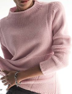Black Friday High Neckline Solid Casual Loose Shift Sweaters - Fashion Trends of Winter Womens trendy sweaters 2020 Cozy Sweaters, Cable Knit Sweaters, Sweaters For Women, Knit Fashion, Women's Fashion, Fashion Outfits, Fashion Trends, Knitting Designs, Sweater Weather