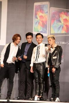 Big Bang   YG Family Power Tour in Singapore Press Conference 140912
