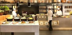 Buffet new hotel athens if i could design a hotel for Buffet cuisine en pin