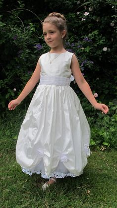 Finished First Communion Dress