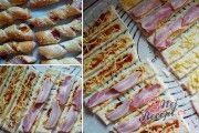 Famózní nepečené ovocné řezy | NejRecept.cz Gourmet Sandwiches, Cold Sandwiches, Finger Sandwiches, Subway Sandwich, Sandwich Fillings, Snacks Für Party, Hawaiian Pizza, Sausage, Brunch