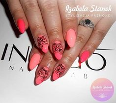 by Izabella Stanek, Follow us on Pinterest. Find more inspiration at www.indigo-nails.com #nailart #nails #indigo #spring #ombre