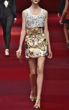 Dolce & Gabbana  Trunkshow Look 12 on Moda Operandi