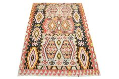 Vintage Turkish Kilim rug 10,1 x 5,9 Feet Oriental rug kilim Decorative rug Large size rug Traditional kilim rug wool kilim carpet Y-240 by kilimwarehouse on Etsy