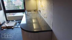 Küche Mit Montage | Montage Der Belvedere Granit Ruckwande In Koln Granit Kuche