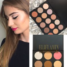 High Quality Makeup Palette contouring, Eyeshadows palette Eliflamin Milano Cosmetics®