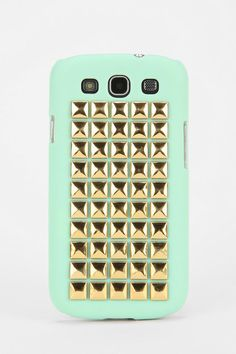 Square-Stud Samsung Galaxy S3 Phone Case... I want this real bad!