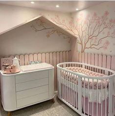Baby Nursery Diy, Baby Bedroom, Nursery Room, Kids Bedroom, Baby Room Themes, Baby Room Decor, Princess Bedrooms, Nursery Neutral, Dream Rooms