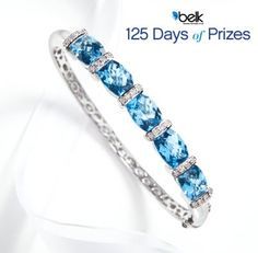 Belk 125 Days of Prizes is winding down. Enter now for a chance to win this beautiful bracelet! #belk125