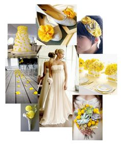Yellow wedding theme
