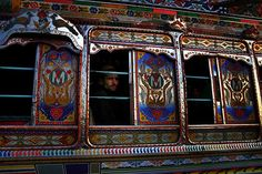 Pakistan is known for its artistically painted and decorated traffic  vehicles, whether they are small autorickshaws, goods-hauling trucks, or buses  used for public transportation.