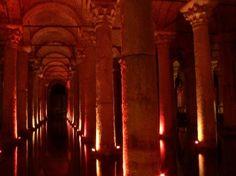 Cisterna sumergida, en Estambul