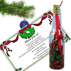 Send the unique & creative party messages & invitations in bottles to your friends. Find the uncommon party favors and invitations ideas in an easy but effective way. Christmas Invitations, Party Invitations, Party Favors, Corporate Invitation, Christmas Messages, Message In A Bottle, Pirate Party, Bat Mitzvah, Luau