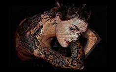 Tattoo 3D PhotoMask