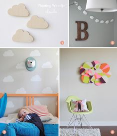 Roundup: 25+ DIY Cloud Decor Projects