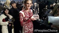 Stana at the People's Choice Awards! Castle Season 6, Castle Tv Shows, Castle Beckett, Stana Katic, Kinds Of People, Best Actress, Get Dressed, Her Style, Girl Crushes
