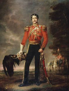 Lieutenant-Colonel George James Mouat MacDowell, CB, 16th (The Queen's) Regiment of Light Dragoons (Lancers) by Edwin Long