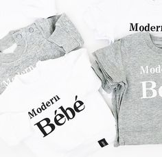 This listing is for one Bébé Gray - Matching Baby Shirt Fits a little big - If between sizes size down Material is super soft cotton Cotton Custom TMB Tag on Cuff Mommy And Me Outfits, Boy Outfits, Summer Outfits, Toddler Boy Fashion, Kids Fashion, Bebe Shirts, Baby Brands, Monochrome Fashion, Stylish Baby