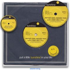 """On this day in 1974 Abba's """"Another Town Another Train"""" entered the charts in Zimbabwe where it reached number 18...  #Abba #Agnetha #Frida #Vinyl http://abbafansblog.blogspot.co.uk/2016/10/abba-date-26th-october-1974.html"""